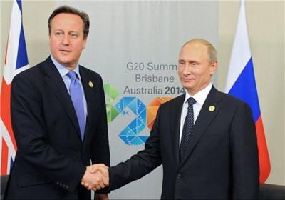 تمایل کامرون و پوتین برای احیای روابط غرب با روسیه