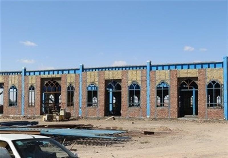فاز نخست ساختمان مصلی پیامبر اکرم(ص) زرند ۶۰ درصد پیشرفت دارد